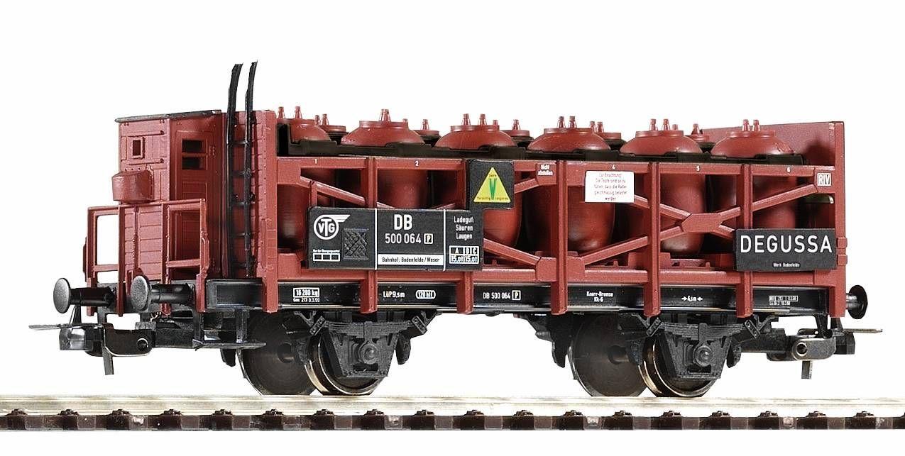 Dřevěné hračky Piko Nádobový vagon pro přepravu kyselin DB III - 54648