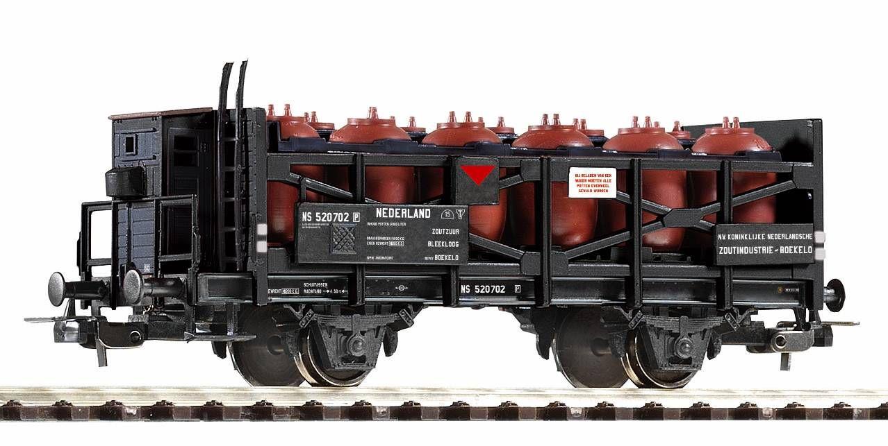 Dřevěné hračky Piko Nádobový vagon pro přepravu kyselin NS III - 54647