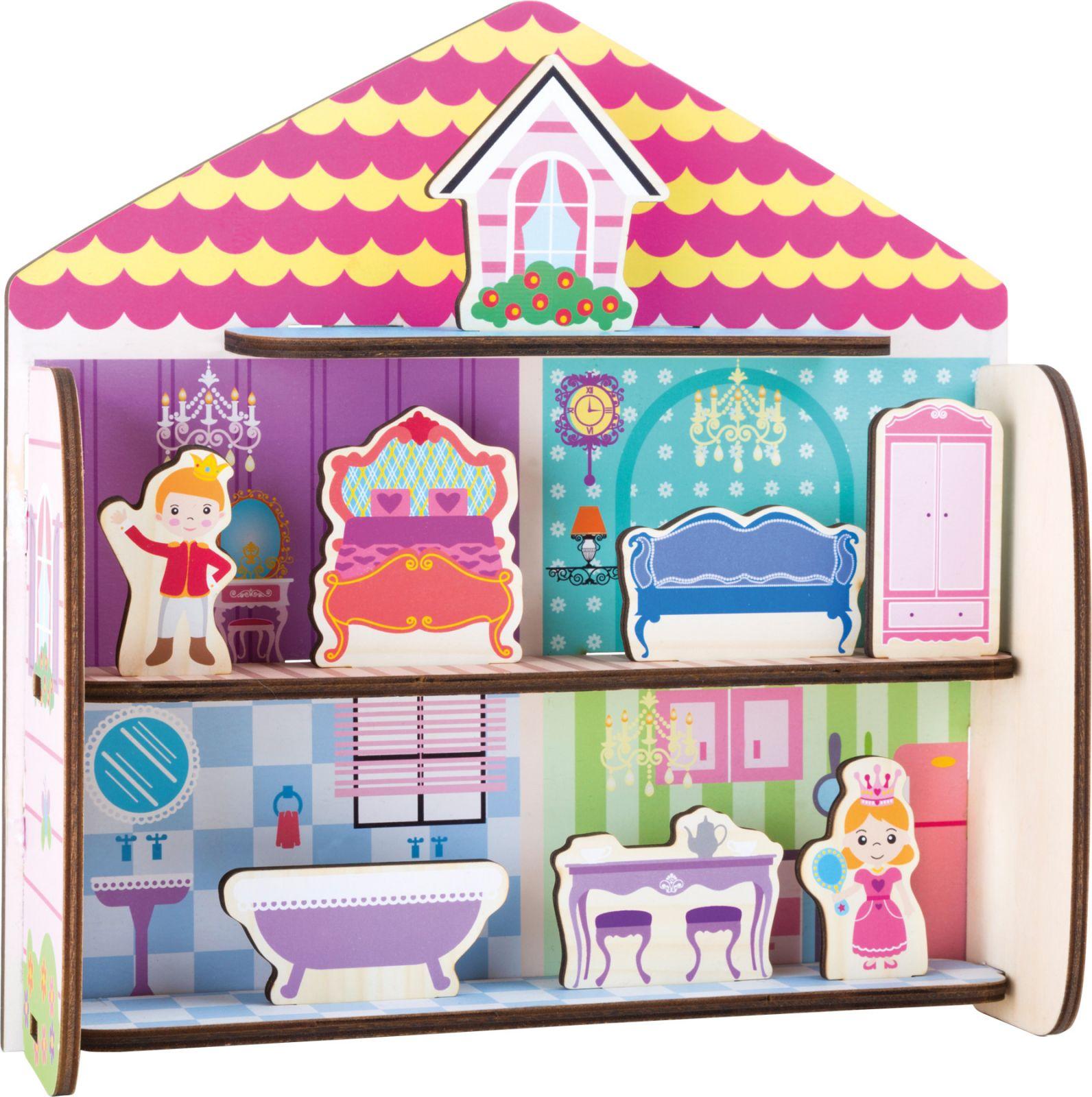 Dřevěné hračky Small Foot Dřevěná skládačka pohádkový dům Small foot by Legler