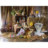 Dřevěné hračky Vilac Barevné kuželky v baťůžku