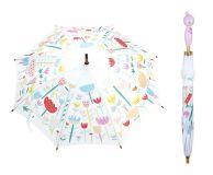 Dřevěné hračky Vilac Deštník květinový Suzy Ultman růžový