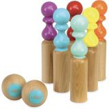 Dřevěné hračky Vilac Retro barevné kuželky