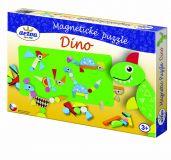Detoa Magnetické puzzle DINO poškozený obal