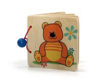 Hess Dřevěná kniha medvídek