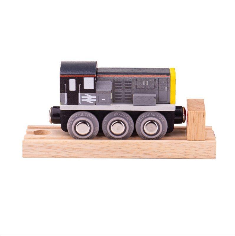 Dřevěné hračky Bigjigs Rail Dieselová lokomotiva třídy 8