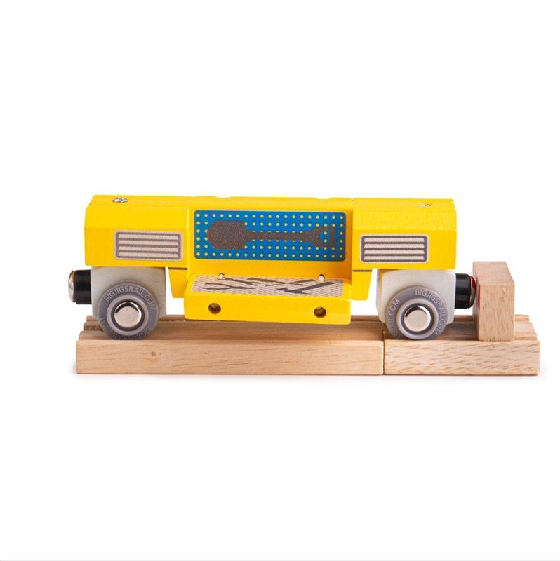 Dřevěné hračky Bigjigs Rail Dřevěná mobilní dílna