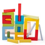 Dřevěné hračky Bigjigs Toys Dřevěné skládací tvary