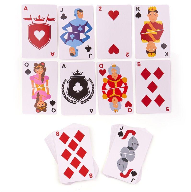 Dřevěné hračky Bigjigs Toys klasické karty