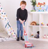 Dřevěné hračky Bigjigs Toys Tyčový vysavač