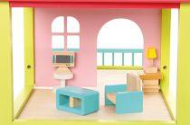 Dřevěné hračky Bino Domeček pro panenky