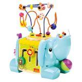 Dřevěné hračky Bino Motorická kostka slon