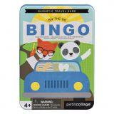 Petitcollage Magnetická hra Bingo poškozená kovová krabička