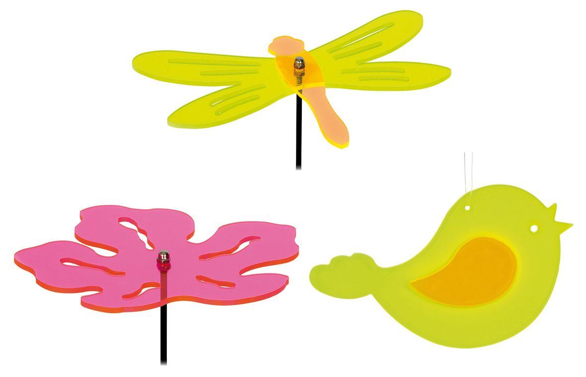 Dřevěné hračky Small Foot Sada 3 ks dekorací ke květináčům Small foot by Legler