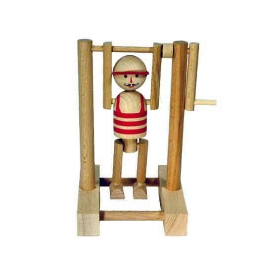 Dřevěný Cvičenec na hrazdě