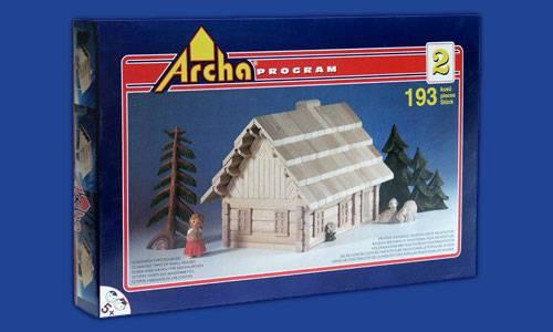 Dřevěná stavebnice Archa 2