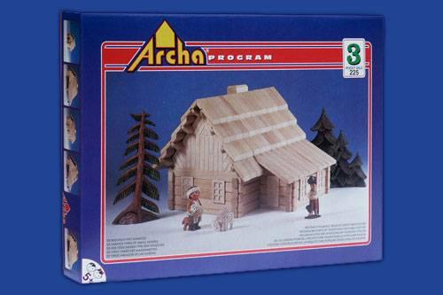 Dřevěná stavebnice Archa 3