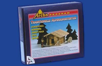 Dřevěná stavebnice Archa Alpen Salaš