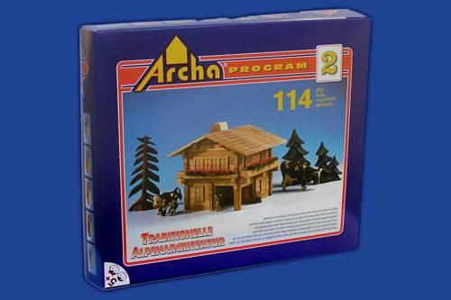 Dřevěná stavebnice Archa Alpen 2