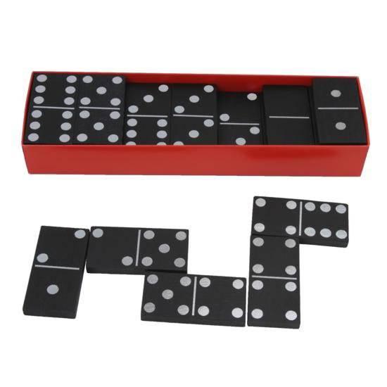 Dřevěné Domino klasik černé