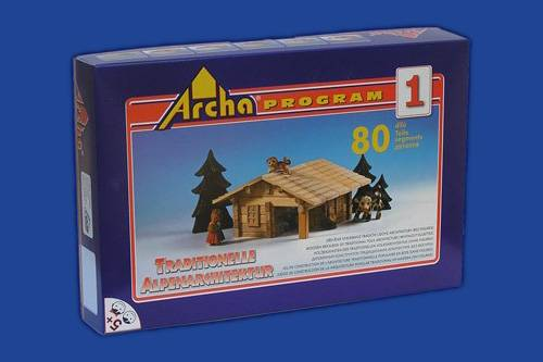 Dřevěná stavebnice Archa Alpen 1