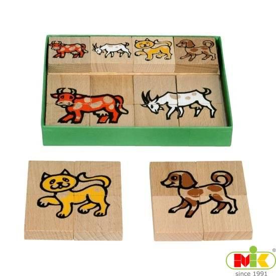 Dřevěné Puzzle malé