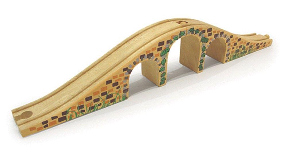 Dřevěné hračky Bigjigs Rail Dřevěná kolej most
