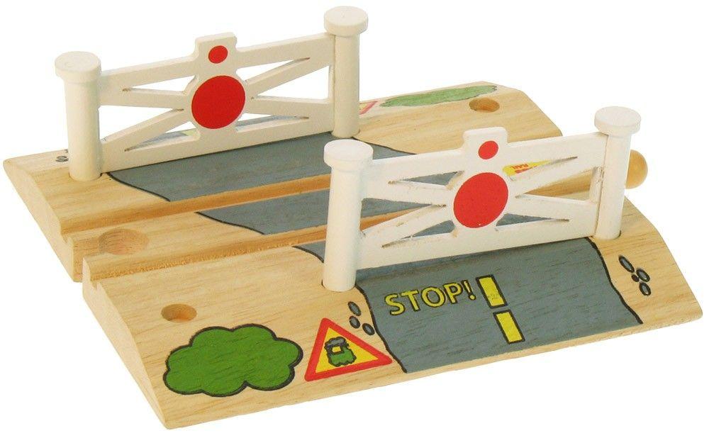 Dřevěné hračky Bigjigs Rail Železniční přejezd