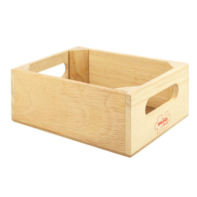 Dřevěné hračky Bigjigs Toys Dřevěná krabička na potraviny