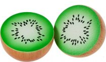 Bigjigs Toys dřevěné potraviny - Půlka kiwi 1ks