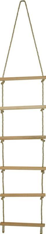 Dřevěné hračky Bigjigs Toys Dřevěný provazový žebřík