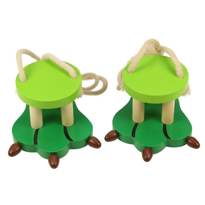 Dřevěné hračky Bigjigs Toys Krokodýlí nohy