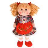 Bigjigs Toys Látková panenka Mandie 34 cm