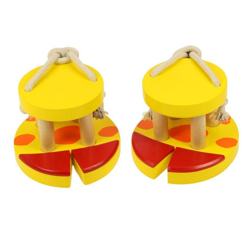 Dřevěné hračky Bigjigs Toys Žirafí nohy