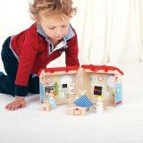 Dřevěné hračky Bigjigs Toys Medvědí nemocnice
