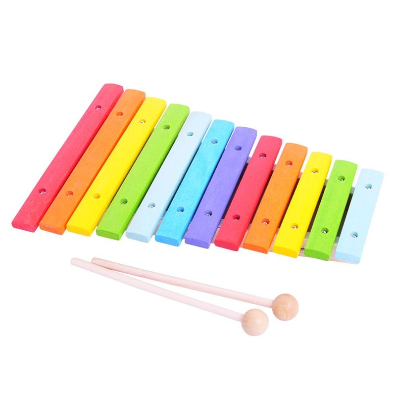 Dřevěné hračky Bigjigs Toys Dřevěný xylofón