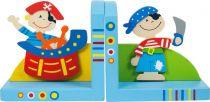 Bigjigs Toys Opěrky knih Piráti sada 2 ks