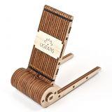 Ugears 3D dřevěné mechanické puzzle Skládací stojan na telefon