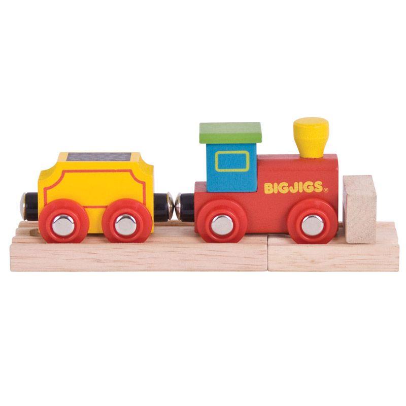 Dřevěné hračky Bigjigs Rail Můj první vlak