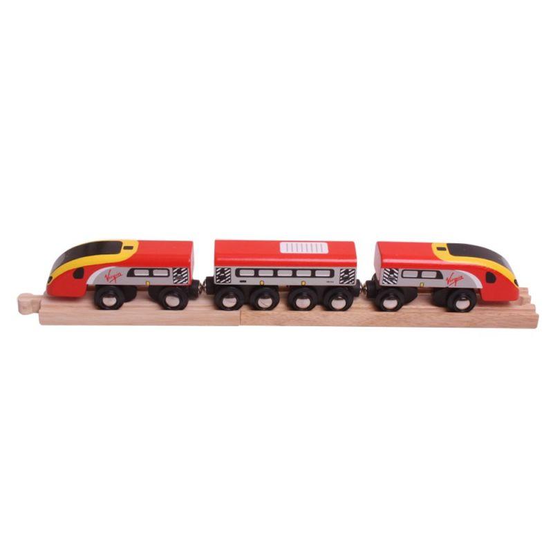 Dřevěné hračky Bigjigs Rail Virgin Pendolino