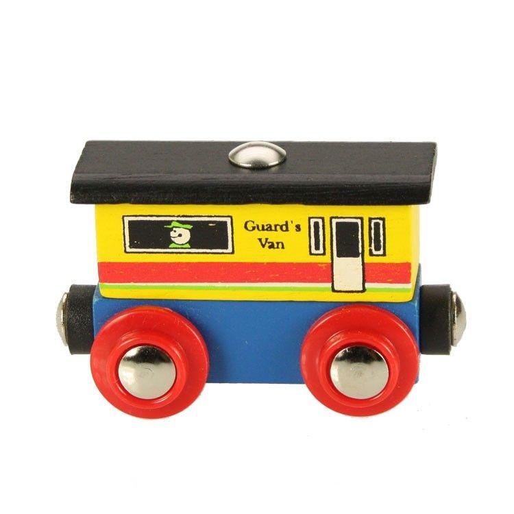 Dřevěné hračky Bigjigs Rail dřevěná vláčkodráha - Vagónek