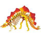 Dřevěné 3D puzzle dinosauři -  Malý Stegosaurus JC016