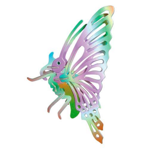 Dřevěné hračky Woodcraft Dřevěné 3D puzzle malý motýl Woodcraft construction kit