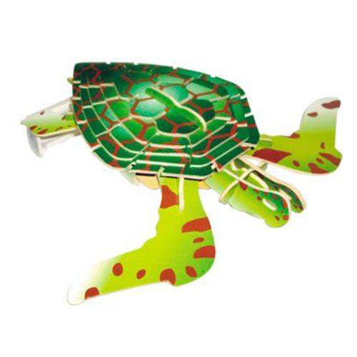 Dřevěné hračky Woodcraft Dřevěné 3D puzzle želva Woodcraft construction kit