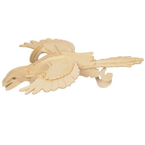 Dřevěné hračky Woodcraft Dřevěné 3D puzzle Archeopteryx Woodcraft construction kit