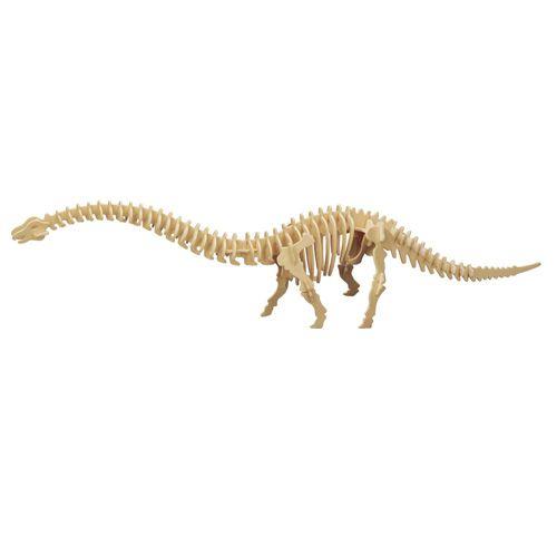 Dřevěné hračky Woodcraft Dřevěné 3D puzzle Diplodocus Woodcraft construction kit
