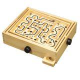 HJ Toys  Dřevěná hra naklápěcí labyrint