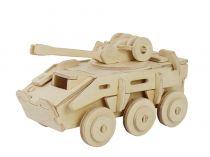 RoboTime Dřevěné skládačky 3D puzzle transportér