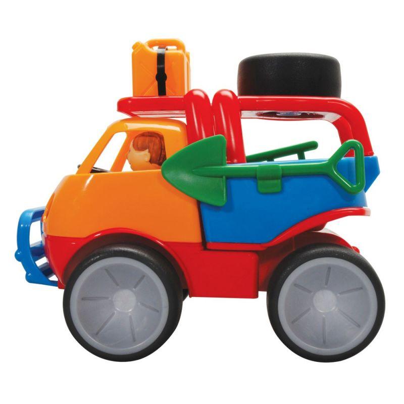 Dřevěné hračky Gowi Auto pro pouštní dobrodružství
