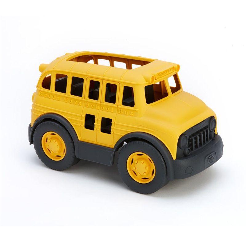 Dřevěné hračky Green Toys Školní autobus