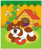Dřevěné hračky Vyrob si aplikace - Pes Emarket